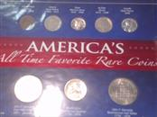 Collection AMERICAS ALL TIME FAVORITE RARE COINS